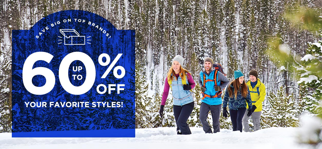 Save Big on Top Brands - Up to 60% off your favorite styles.