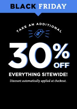 Black Friday | Take an additioanl 30% off everything sitewide! Discount automatically applied at checkout.