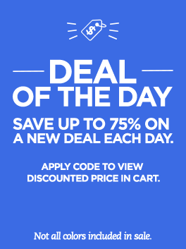 Deal of the Day Save up to 75% on a new deal each day.