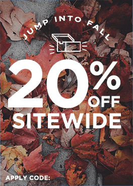 Take an extra 20% off sitewide. Use code: FALLBACK