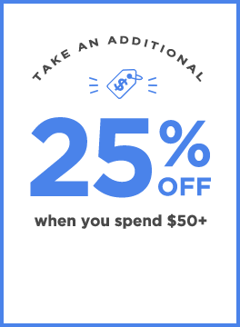 Take an additional 25% off when you spend $50+ | Use code: PRESALE