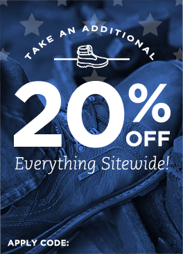 20% Off Everything Sitewide!