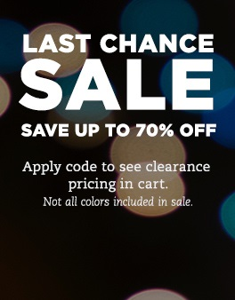 Last Chance Sale - Save up to 70% Off